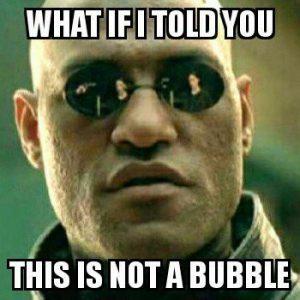 bitcoin non è una bolla