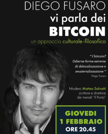fusaro di bitcoin non ne capisce