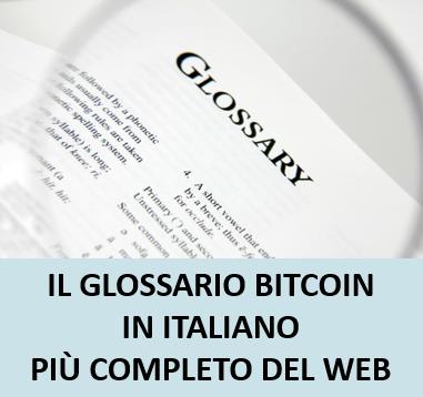 Glossario Bitcoin