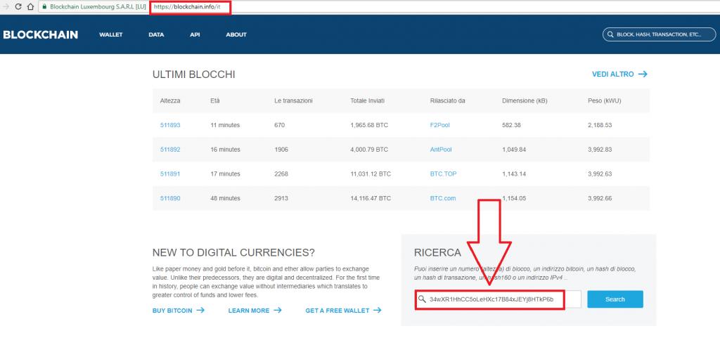 inviare denaro a indirizzo bitcoin