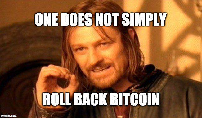no rollback